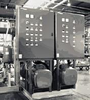 Шкафы управления для систем пожаротушения
